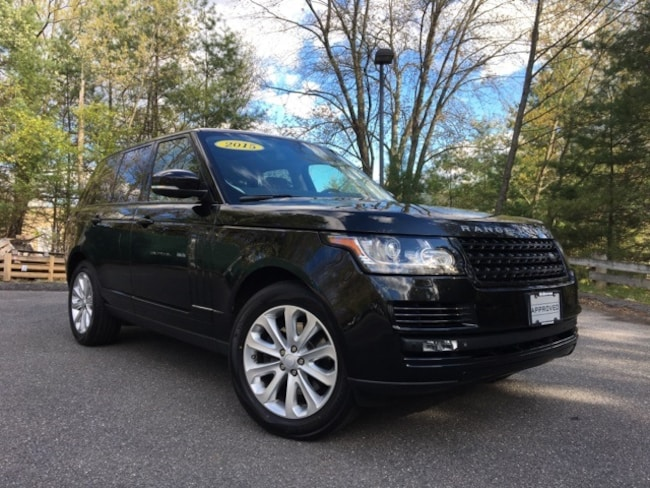 Certified Pre-Owned 2015 Land Rover Range Rover 3.0L V6 Supercharged HSE SUV in Bedford, NH