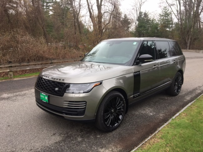 New 2019 Land Rover Range Rover Supercharged SUV in Bedford, NH