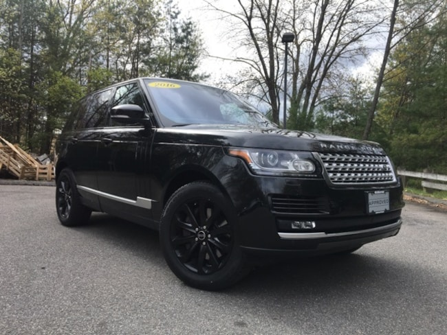Certified Pre-Owned 2016 Land Rover Range Rover 3.0L V6 Supercharged HSE SUV in Bedford, NH