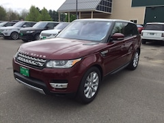 New 2017 Land Rover Range Rover Sport 3.0L V6 Supercharged HSE SUV SALWR2FV2HA673658 for sale in Scarborough, ME