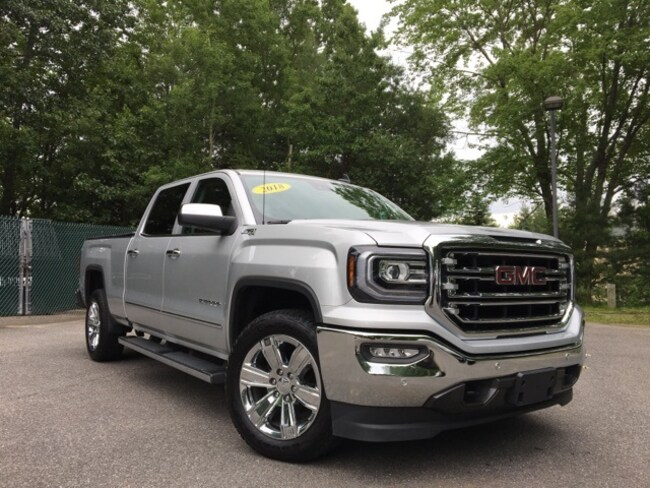 Pre-Owned 2018 GMC Sierra 1500 SLT in Bedford, NH