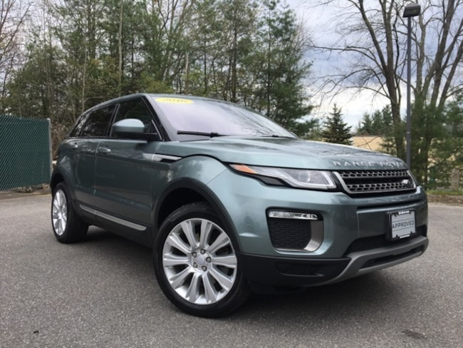 Certified Pre-owned 2016 Land Rover Range Rover EVO HSE SUV for sale in Scarborough, ME