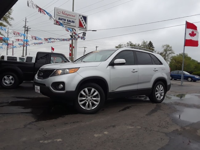 2011 Kia Sorento EX V^ WITH LEATHER AND SUNROOF !! SUV