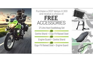 2017 KAWASAKI Versys-X 300 ABS FREE ACCESSORIES!