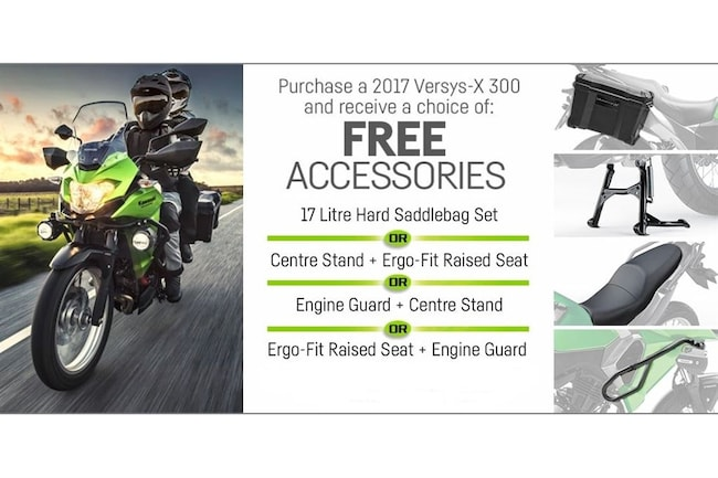 2017 KAWASAKI Versys-X 300 ABS *FREE ACCESSORIES!