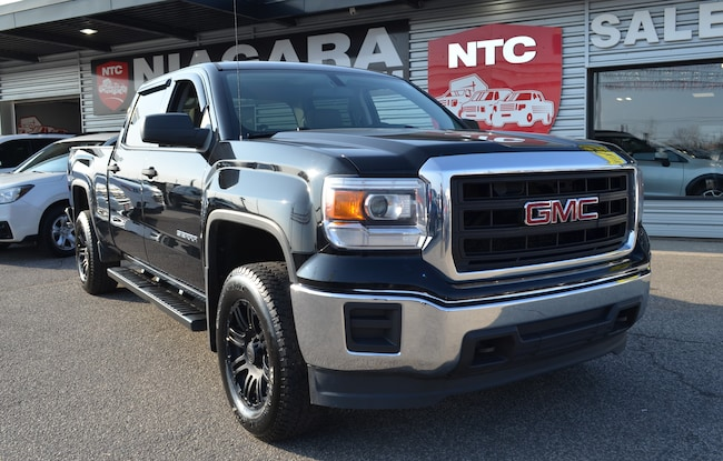 2014 GMC Sierra 1500 NEW BODY STYLE | 18 BLACK OUT RIMS | 4X4 Truck Crew Cab