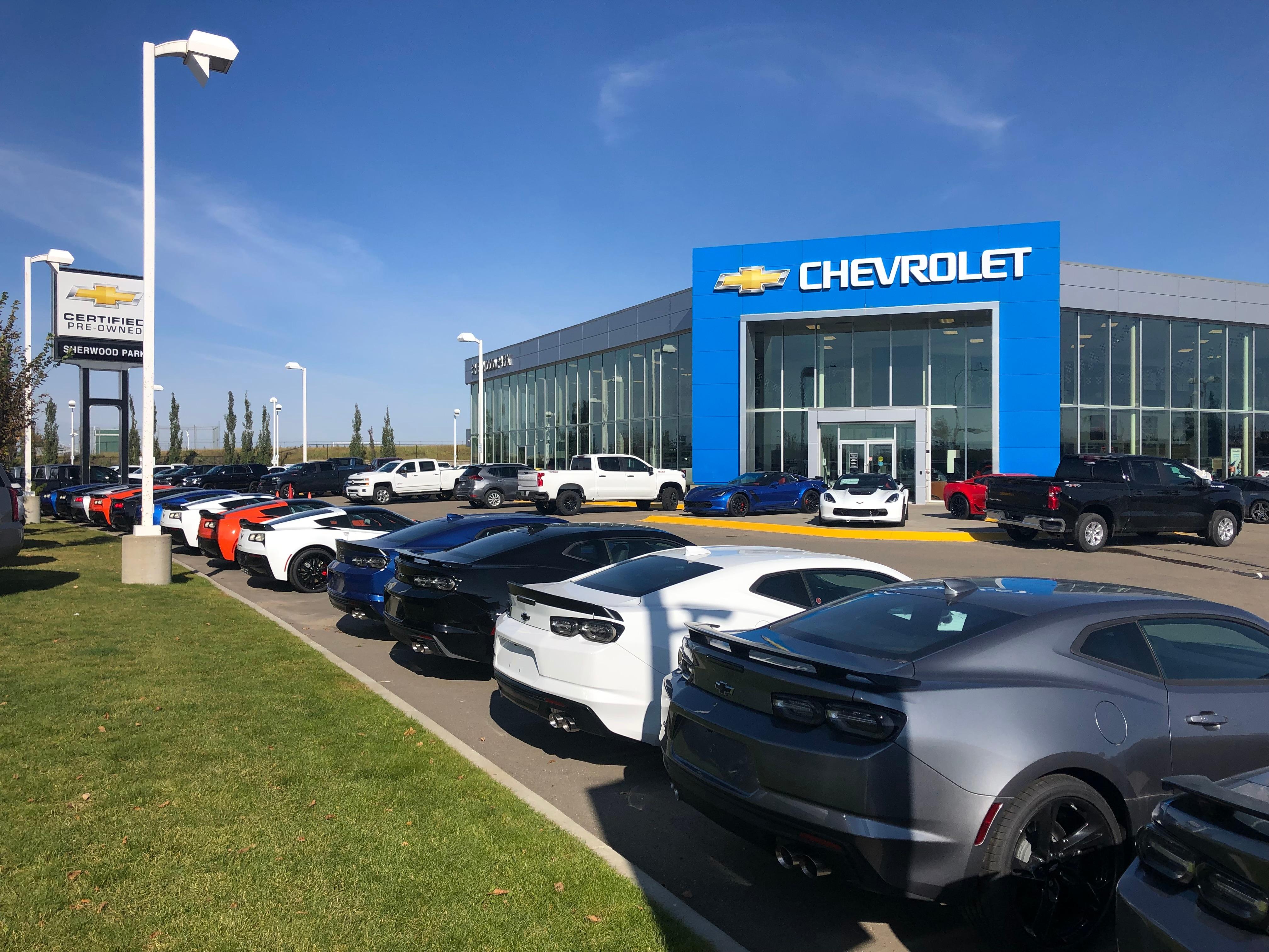 Hours & Directions | Sherwood Park Chevrolet