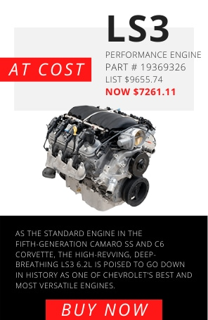 LS3 CRATE ENGINE AT COST
