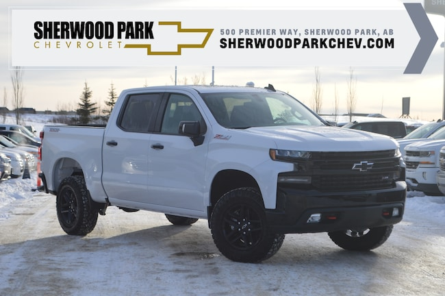 New 2019 Chevrolet Silverado 1500 Lt Trail Boss In Sherwood Park Ab