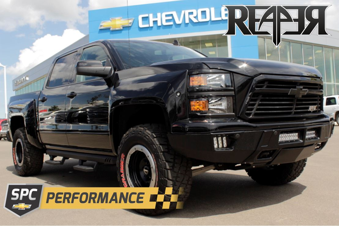 Reaper Truck For Sale >> Build Your 2016 Chevy Reaper Truck Online