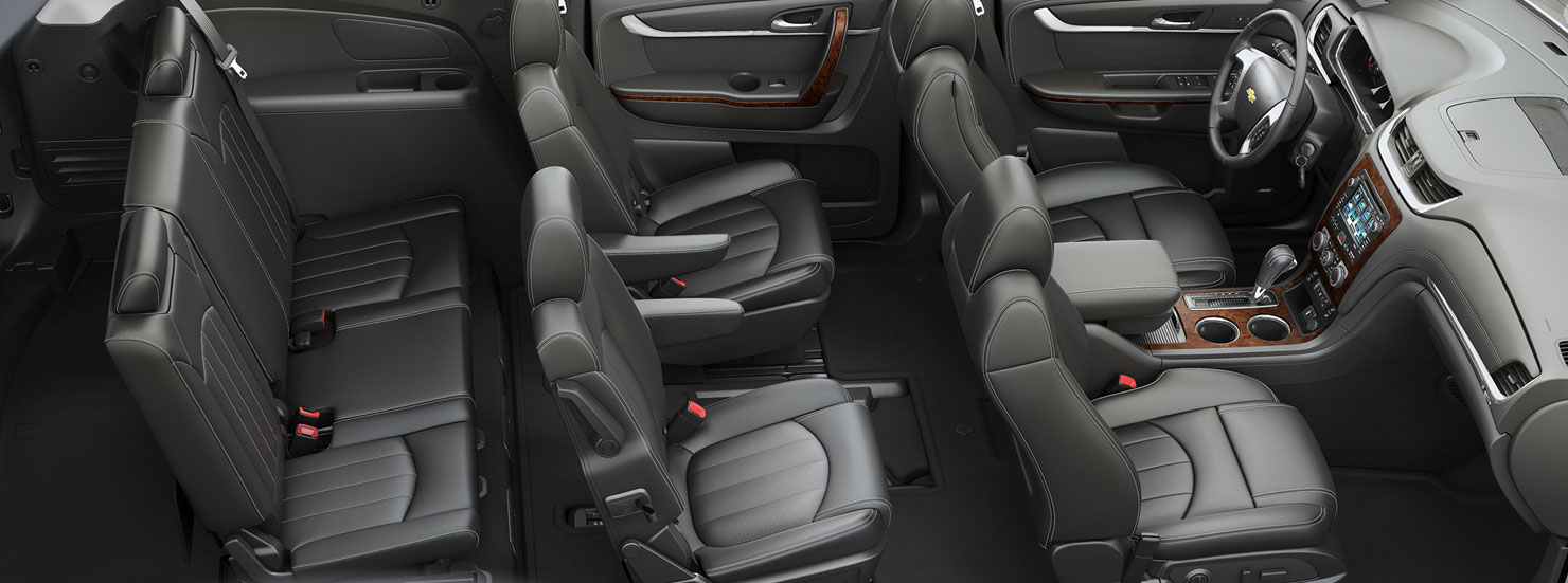 About the chevy traverse edmonton chevy dealer sherwood chev - Chevy traverse interior dimensions ...