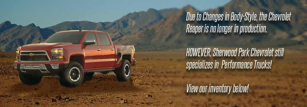 Build Your 2016 Chevy Reaper Truck Online