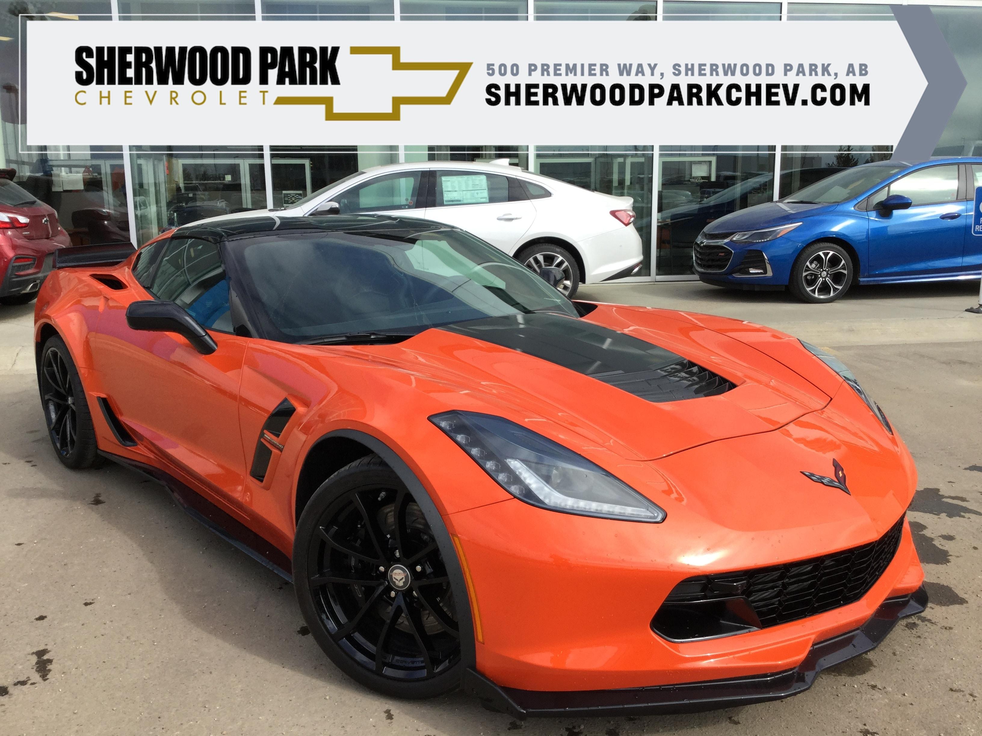 New 2019 Chevrolet Corvette Grand Sport 2lt In Sherwood Park Ab S 9cv0339 V 1g1yy2d7xk5110339