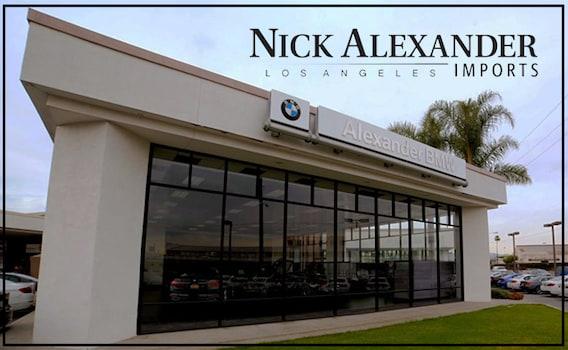 Los Angeles Ca Bmw Dealership Reasons To Buy Nick Alexander Bmw