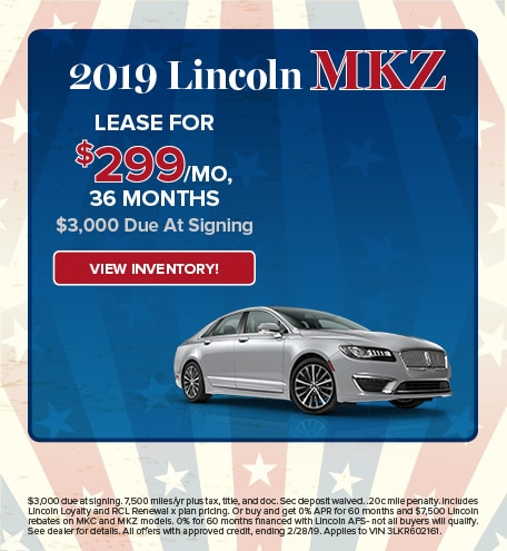 Lincoln MKZ Lease