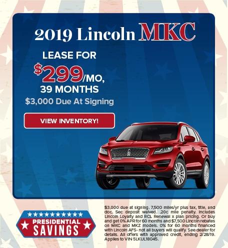 2019 Lincoln MCK