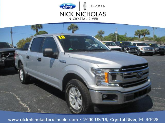 2018 Ford F-150 XLT 4WD SuperCrew 5.5' Box Crew Cab Short Bed Truck