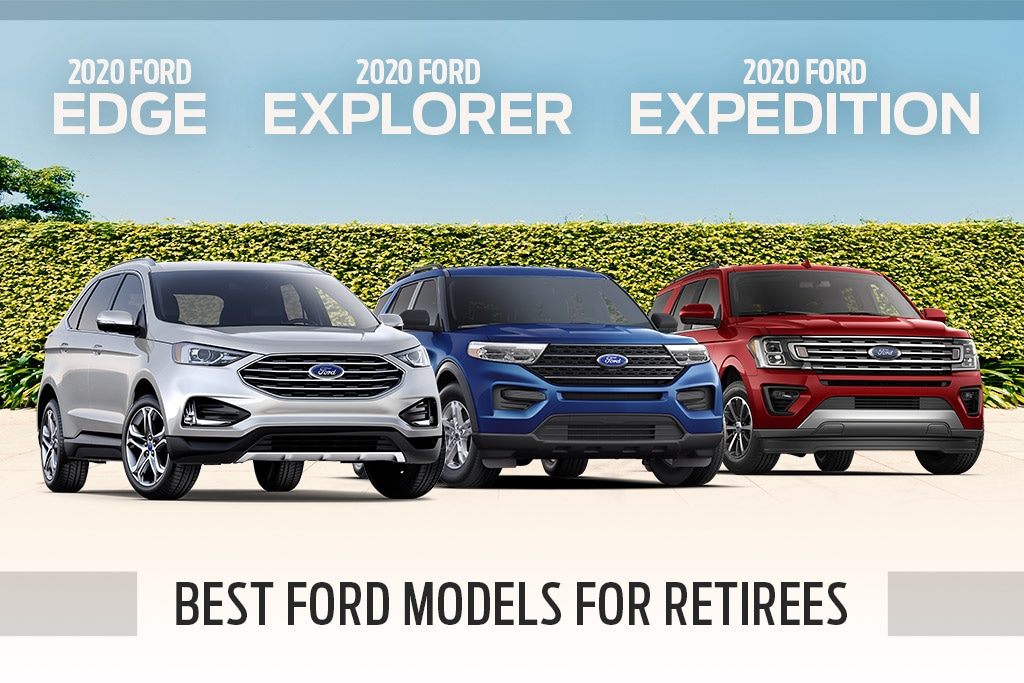 Best Ford Models for Retirees in Inverness, FL