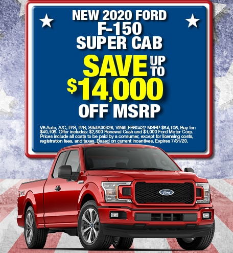 Ford F-150 Purchase Offer