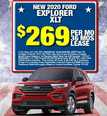 Ford Explorer Lease Offer