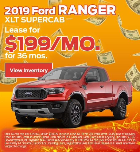 Ford Ranger Lease Special