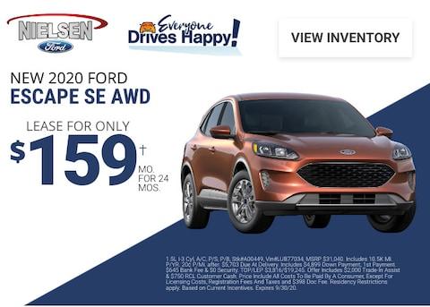 Ford Escape Deal - September 2020