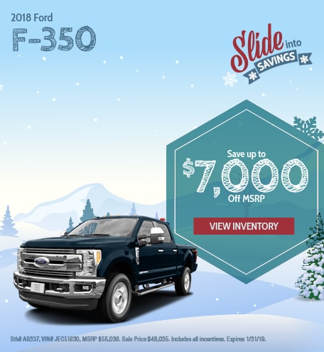 Ford F-350 Special Offer