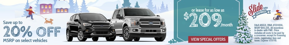 Ford Special Offers in Sussex, NJ