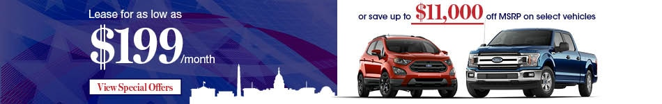 New Vehicle Specials at Nielsen Ford