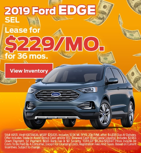 Ford Edge Lease Special