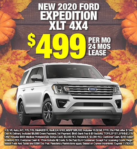 Ford Expedition Lease Special