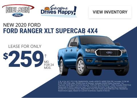 Ford Ranger Deal - September 2020