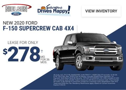 Ford F-150 Deal - September 2020