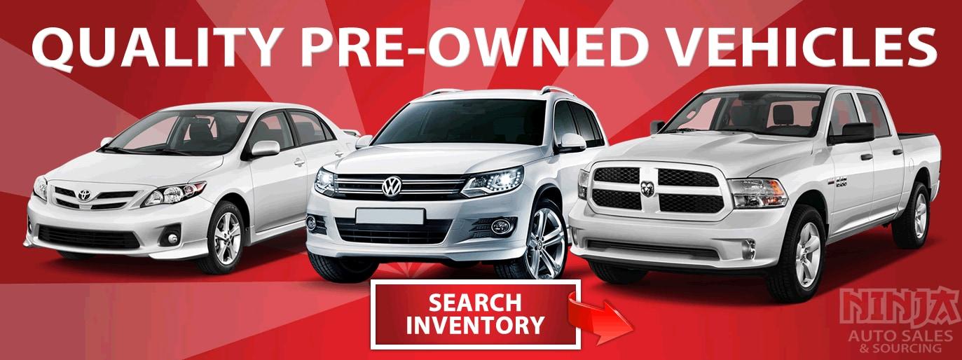 Ninja Auto Sales and Sourcing Used Car Dealership Calgary, AB