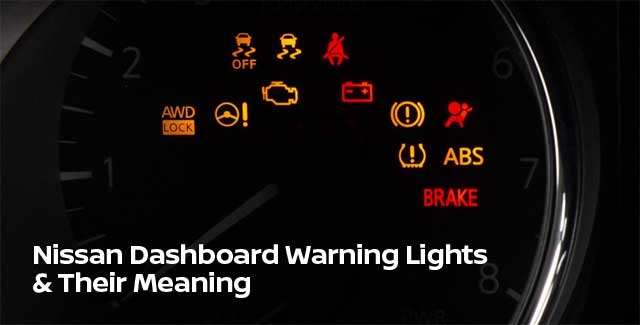 Nissan Dashboard Warning Light Guide from Nissan 422 of ...