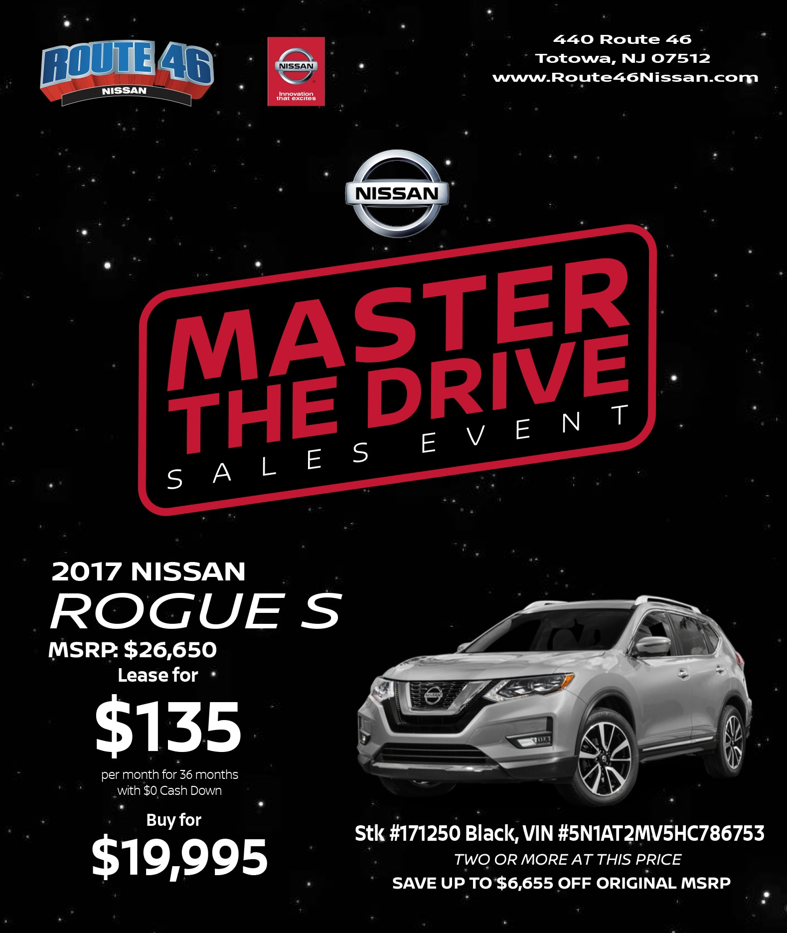 Route 46 Nissan | New Nissan dealership in Totowa, NJ 07512