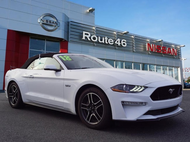 Used 2018 Ford Mustang GT Premium Convertible near Newark