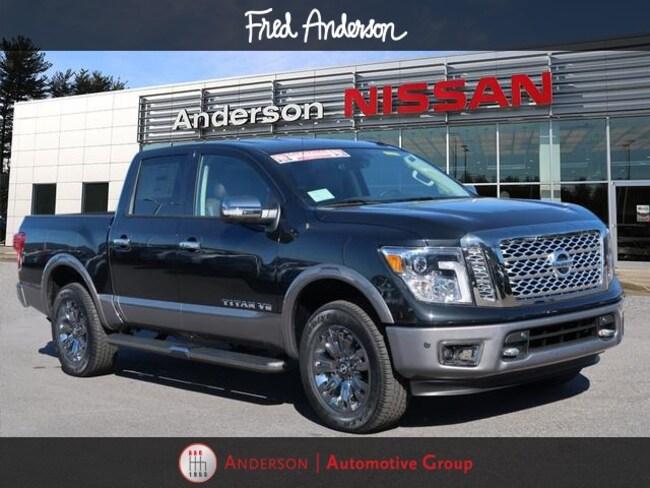 2019 Nissan Titan Platinum Reserve Truck Crew Cab