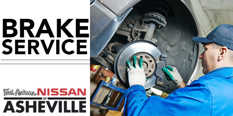 Experienced Nissan Brake Service | Asheville, NC