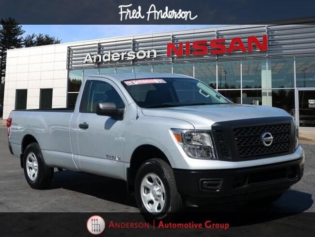 2018 Nissan Titan S Truck