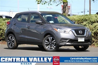 New 2019 Nissan Kicks SV SUV 3N1CP5CU5KL496314 for sale in Modesto, CA at Central Valley Nissan