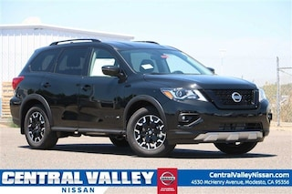 New 2019 Nissan Pathfinder SV SUV 5N1DR2MM3KC629278 for sale in Modesto, CA at Central Valley Nissan