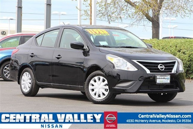 New 2019 Nissan Versa 1.6 S Sedan for sale in Modesto, CA at Central Valley Nissan