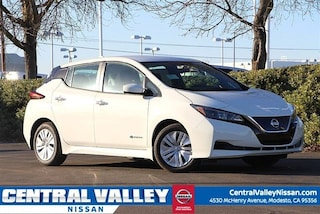 New 2019 Nissan LEAF S Hatchback 1N4AZ1CP9KC306310 for sale in Modesto, CA at Central Valley Nissan