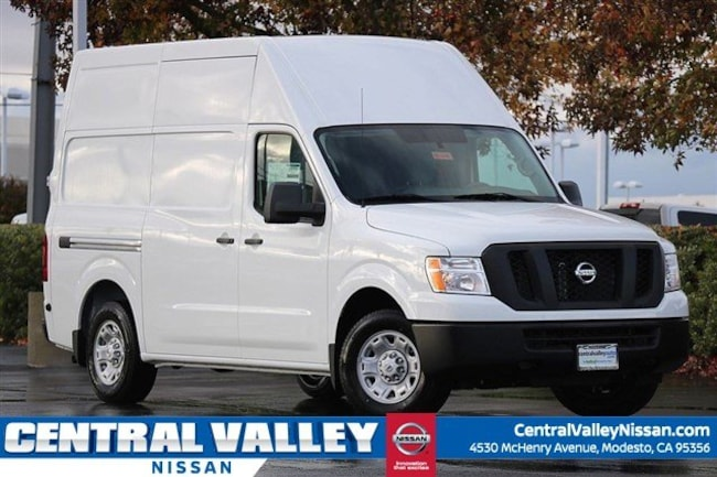 New 2018 Nissan NV Cargo NV2500 HD SV V6 Van High Roof Cargo Van for sale in Modesto, CA at Central Valley Nissan