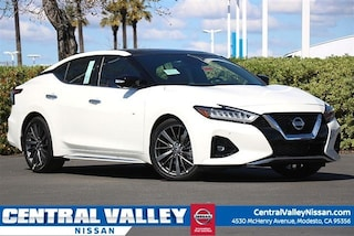 New 2019 Nissan Maxima 3.5 Platinum Sedan for sale in Modesto, CA at Central Valley Nissan