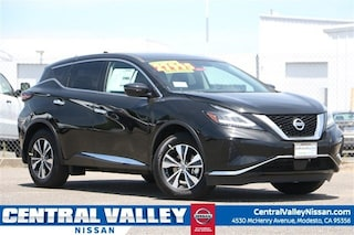 New 2019 Nissan Murano S SUV 5N1AZ2MJ4KN132429 for sale in Modesto, CA at Central Valley Nissan