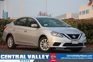 New 2019 Nissan Sentra SV Sedan for sale in Modesto, CA at Central Valley Nissan