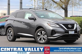 New 2019 Nissan Murano SV SUV 5N1AZ2MS5KN110271 for sale in Modesto, CA at Central Valley Nissan