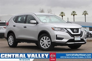 New 2019 Nissan Rogue S SUV JN8AT2MT9KW255035 for sale in Modesto, CA at Central Valley Nissan